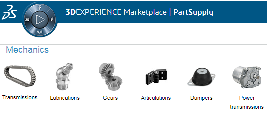 PartSupply in 3DEXPERIENCE Marketplace