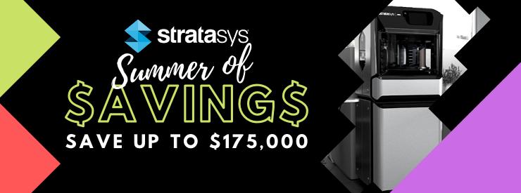 Stratasys Summer of Savings tradein