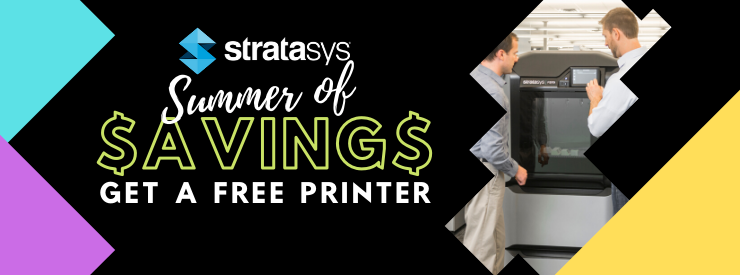 Stratasys Savings for new shops