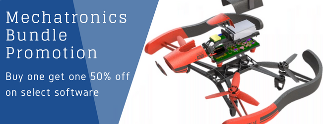 Buy one get one 50% off on select SOLIDWORKS software packages