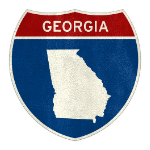 Roadsign Georgia