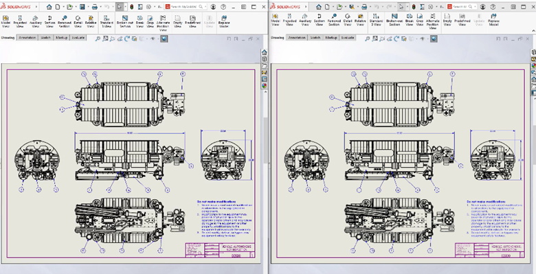 SOLIDWORKS 2021 Detailing Mode Fast and Crisp Drawings