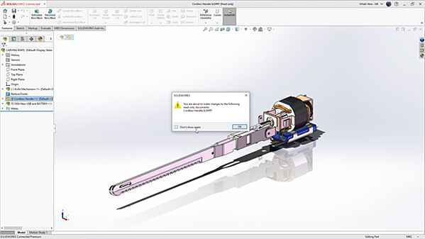 SOLIDWORKS 3DEXPERIENCE Editing Parts