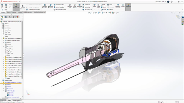 SOLIDWORKS 3DEXPERIENCE Internal Components