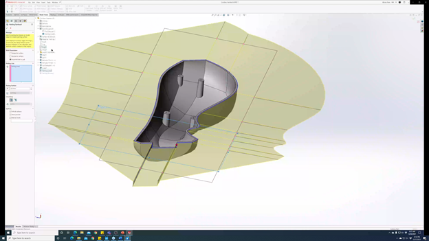 3DEXPERIENCE SOLIDWORKS Mold Process Manual Operation