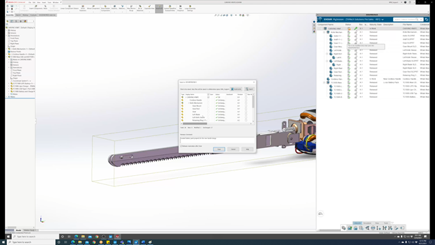 3DEXPERIENCE SOLIDWORKS Saving Changes