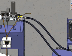 SOLIDWORKS Electrical Hose Path