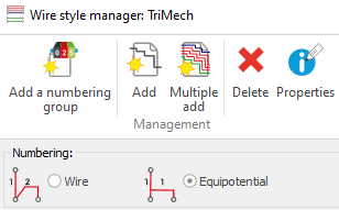 SOLIDWORKS Electrical Wire Style Manager
