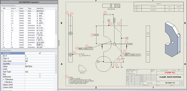SOLIDWORKS Inspection Plug-In