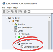 SOLIDWORKS PDM Files Search Cards-1