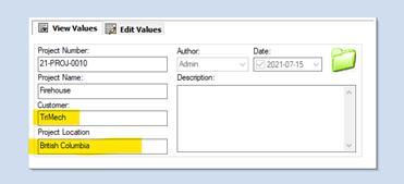SOLIDWORKS PDM Folder Information