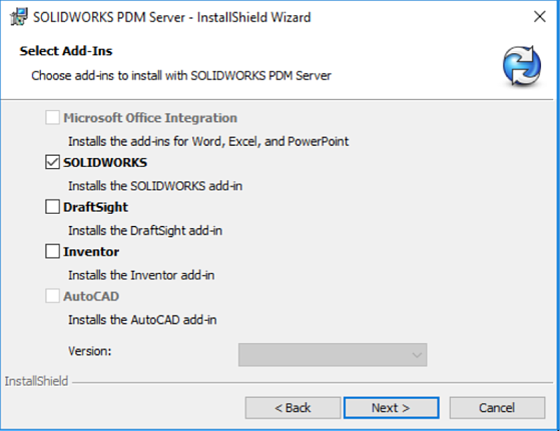SOLIDWORKS PDM Server Editor
