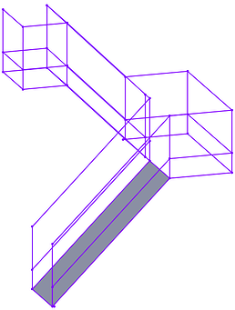 SOLIDWORKS Structure System Staircase2-1