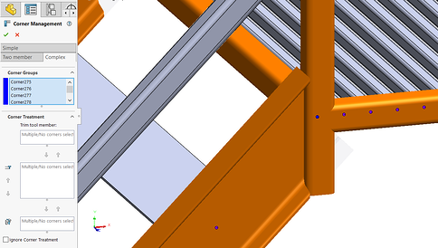 SOLIDWORKS Structure System Staircase4
