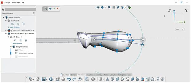 SOLIDWORKS xShape Arc Bend Tool