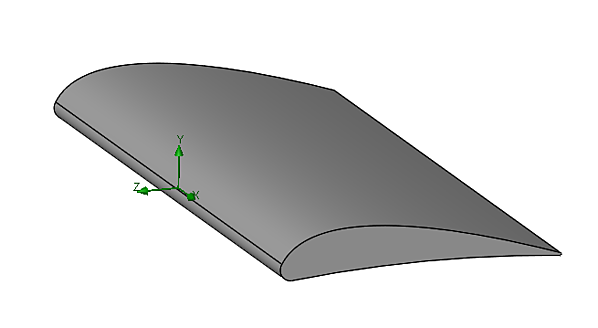 Airfoil in SOLIDWORKS