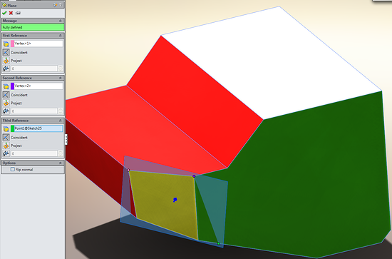solidworks cut with surface