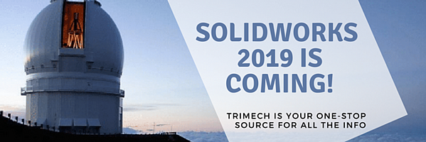 SOLIDWORKS 2019 release date
