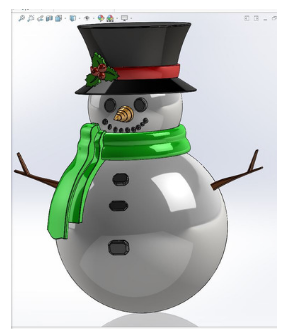 SnowGlobe2018-Draft in SolidWorks