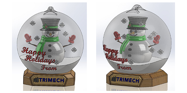 SnowGlobe2018-Full model in SolidWorks