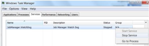 Removing the old Job Manager for GrabCAD Print setup