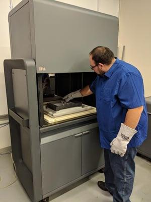 Using the Desktop Metal Stupid System 3D Printer