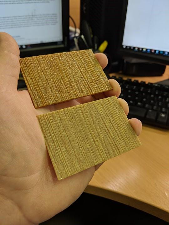 Wood Printed Sample