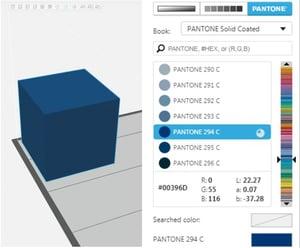 PANTONE GrabCad 3D Printing