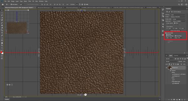 Surface Detail Control Photoshop