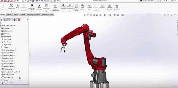 Mate Controller in SOLIDWORKS