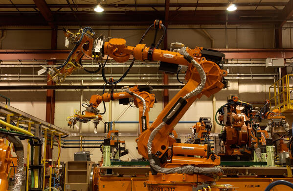 applied robotics automated robotic manufacturing arms in action