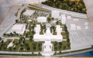 Capitol 3D printed model