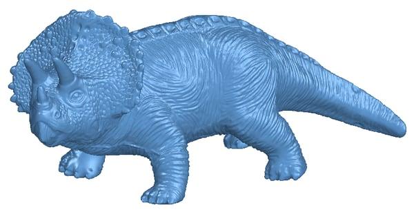 Scanned Dinosaur model