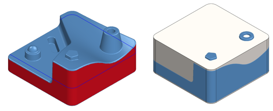 hybrid model in Geomagic for SOLIDWORKS