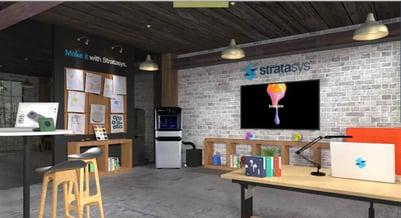 Stratasys J55 Virtual Environment