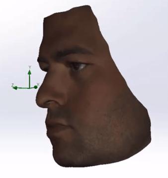 Artec Spider Face Scan