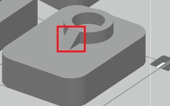 Sample geometry in GrabCAD Print
