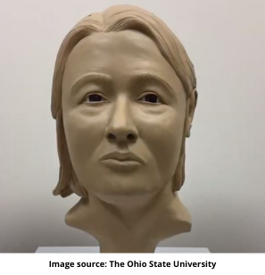Reconstructed 3D Printed Face