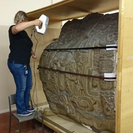 Artec Eva Scan of a Mayan Ruin