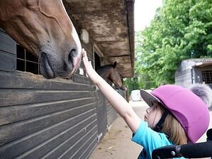 Imogen with horse