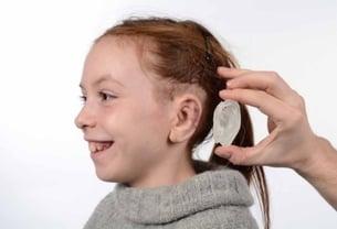Final 3d printed ear mold