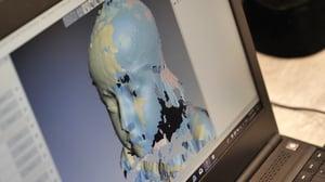 3D Scan of Imogen in Artec Studio
