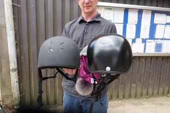 Progression of custom helmet