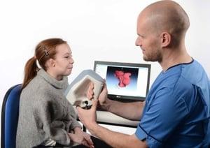 3D Scanning ear for prosthetic