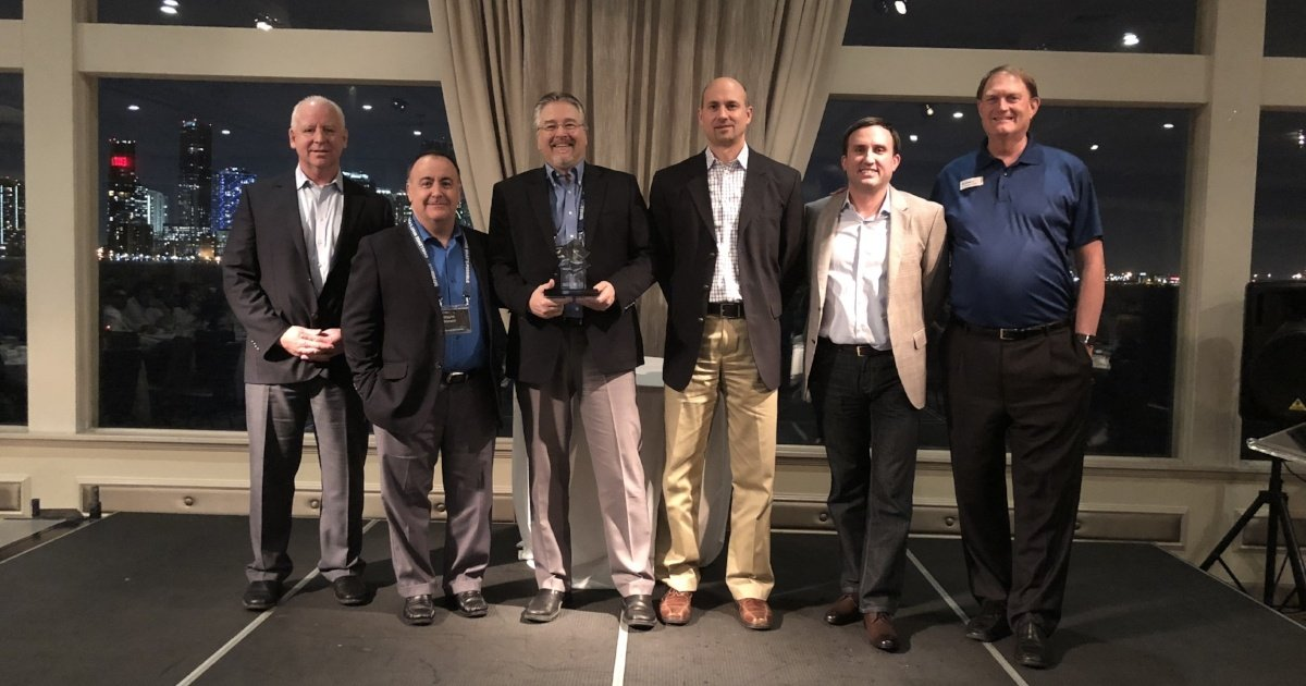 TriMech Accepts Top Stratasys Reseller Award