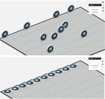 GrabCAD Print 1.15 Arrange Tool