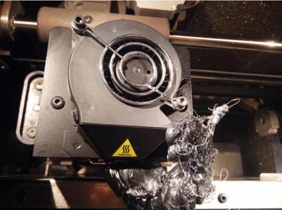 3D Printer Material Jam