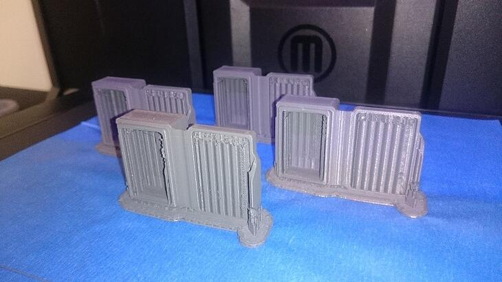 MakerBot Tough PLA with living hinge and snap fit