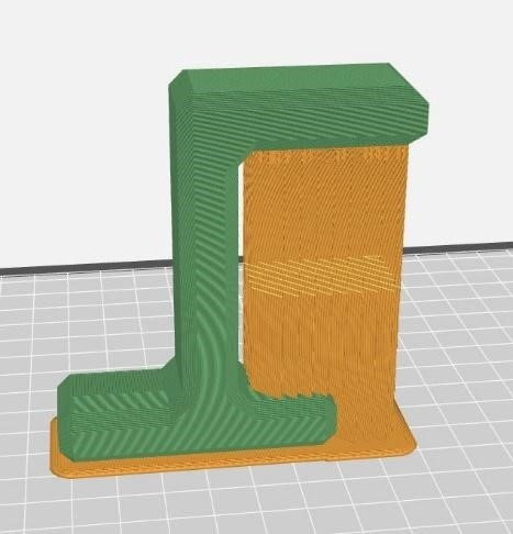 Altering orientation of 3D printed part