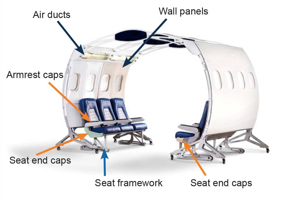 3D printing parts can reduce weight of the aircraft